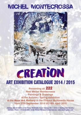 Creation Art Exhibition Catalogue 2014 / 2015